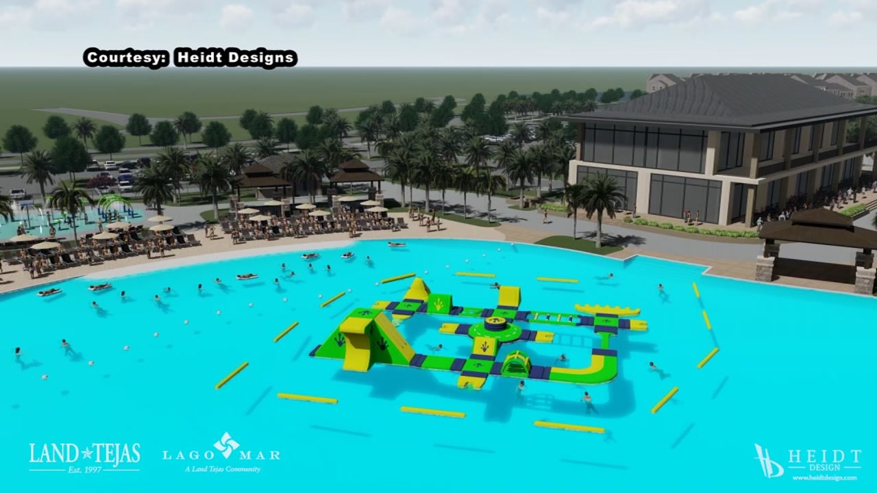 New renderings of Crystal Clear lagoon in Texas City
