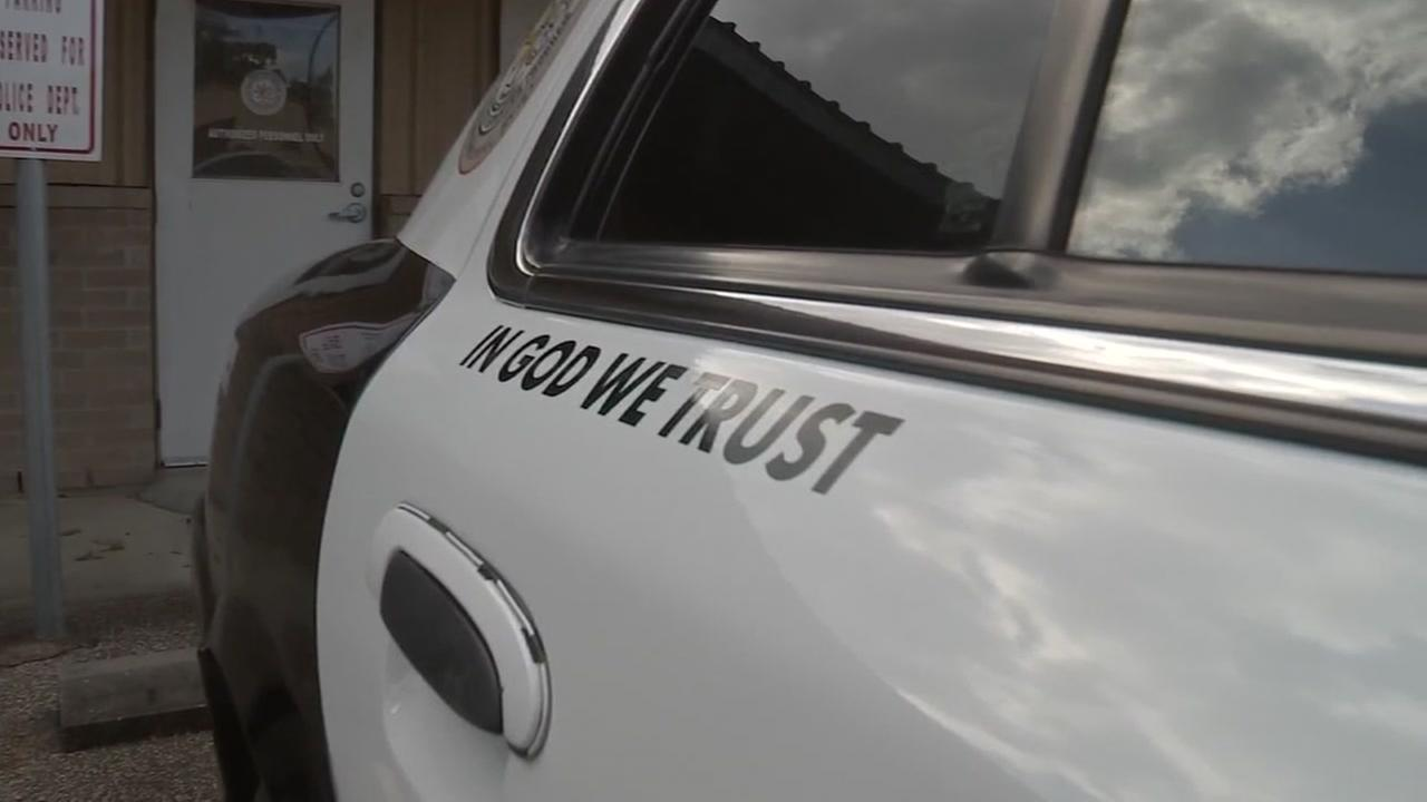 Cleveland ISD next to add In God we trust stickers on vehicles