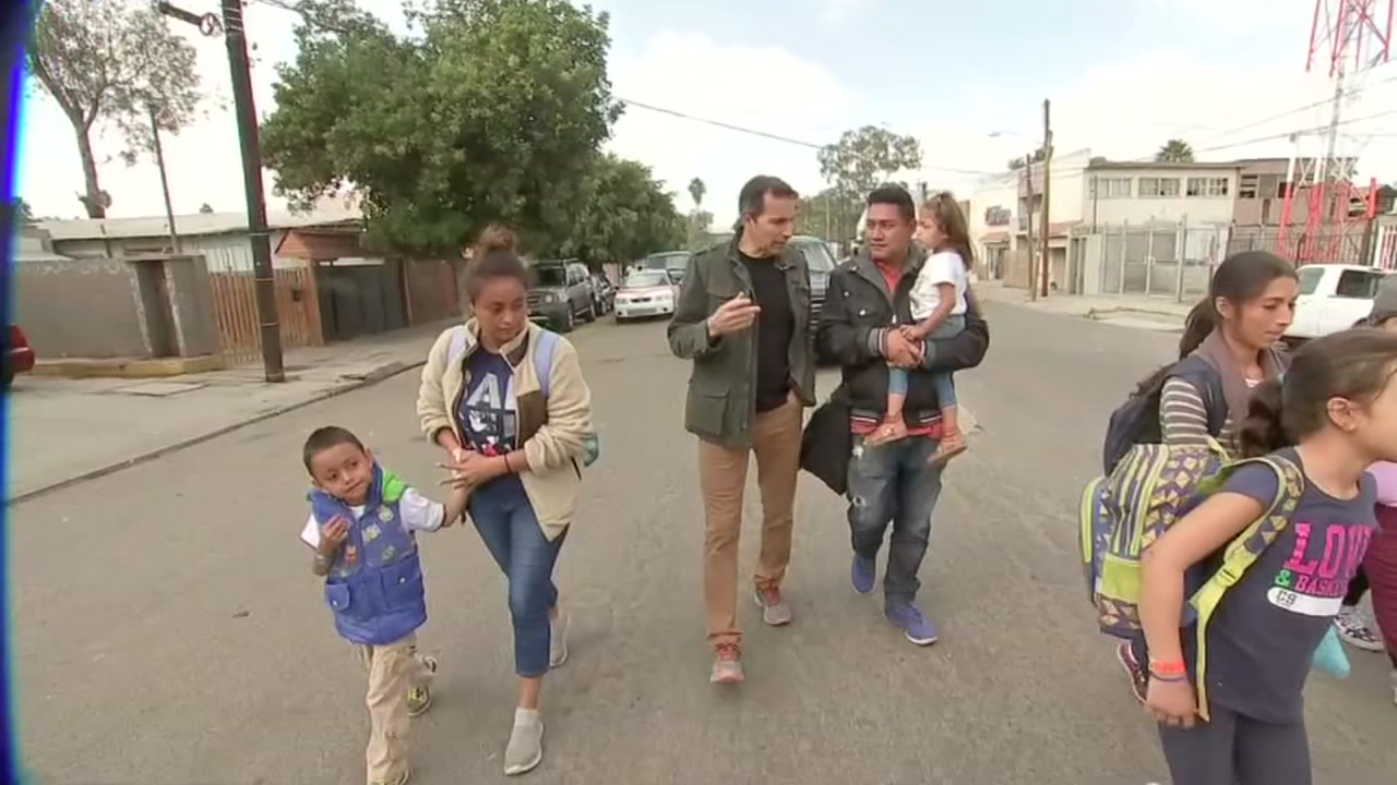 ABC13s Art Rascon reports from Tijuana where, just like other border towns, its seeing more migrants arrive.