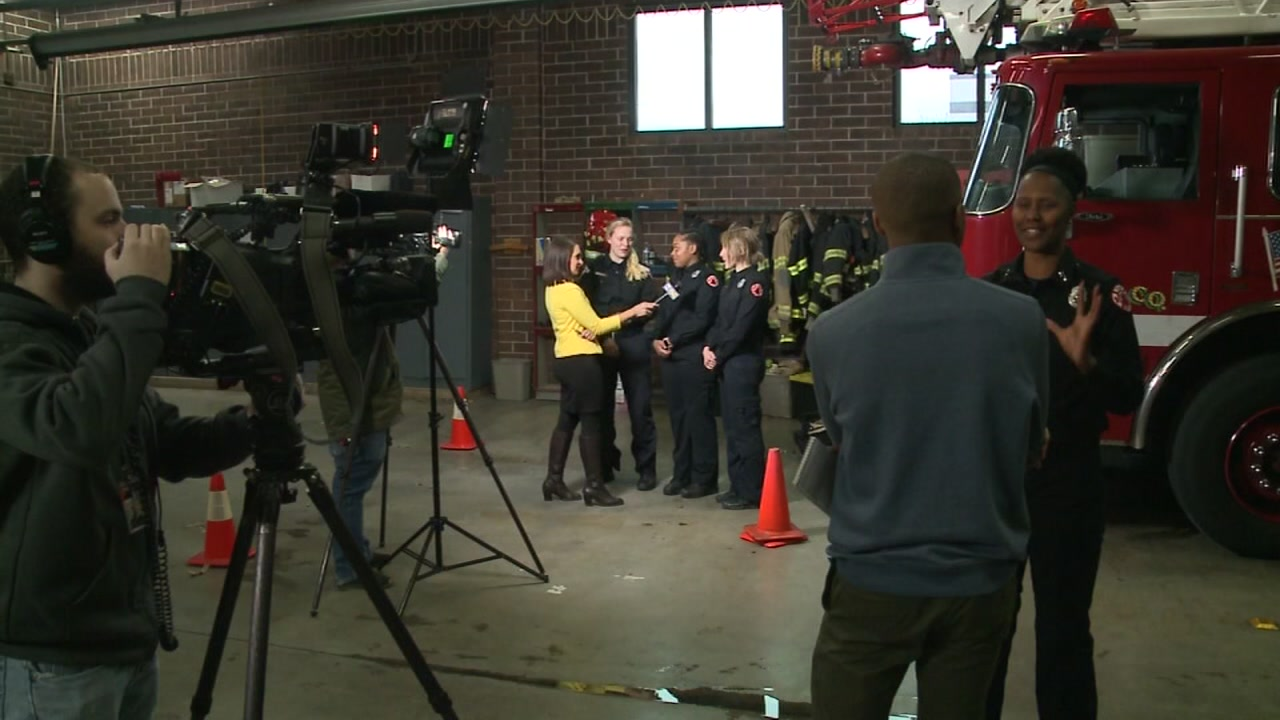 All female firefighter crew makes history