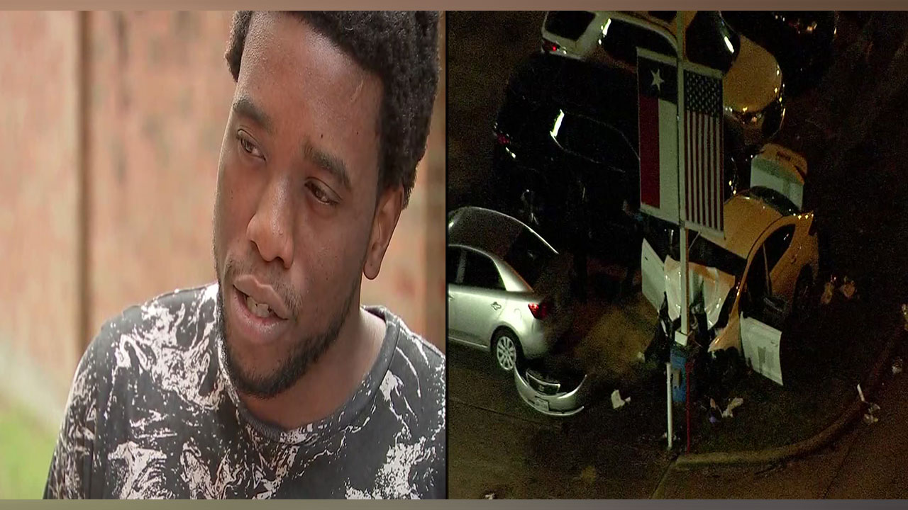 The carjacking victim, Wayne told Eyewitness News he was at a friends house in his car when at least two masked robbers approached his window with a gun and demanded he get out.