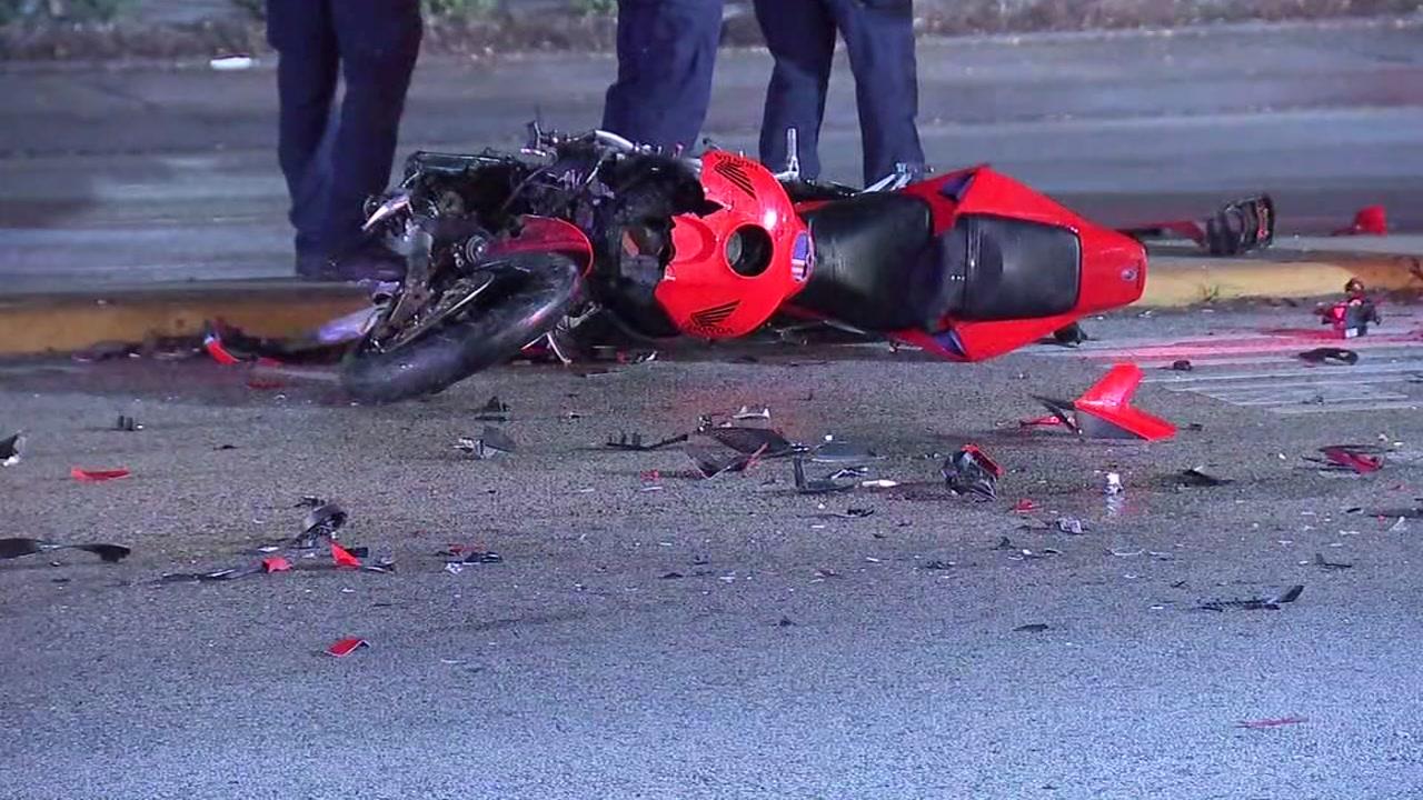 Police investigating crash that killed motorcyclist on Westheimer.