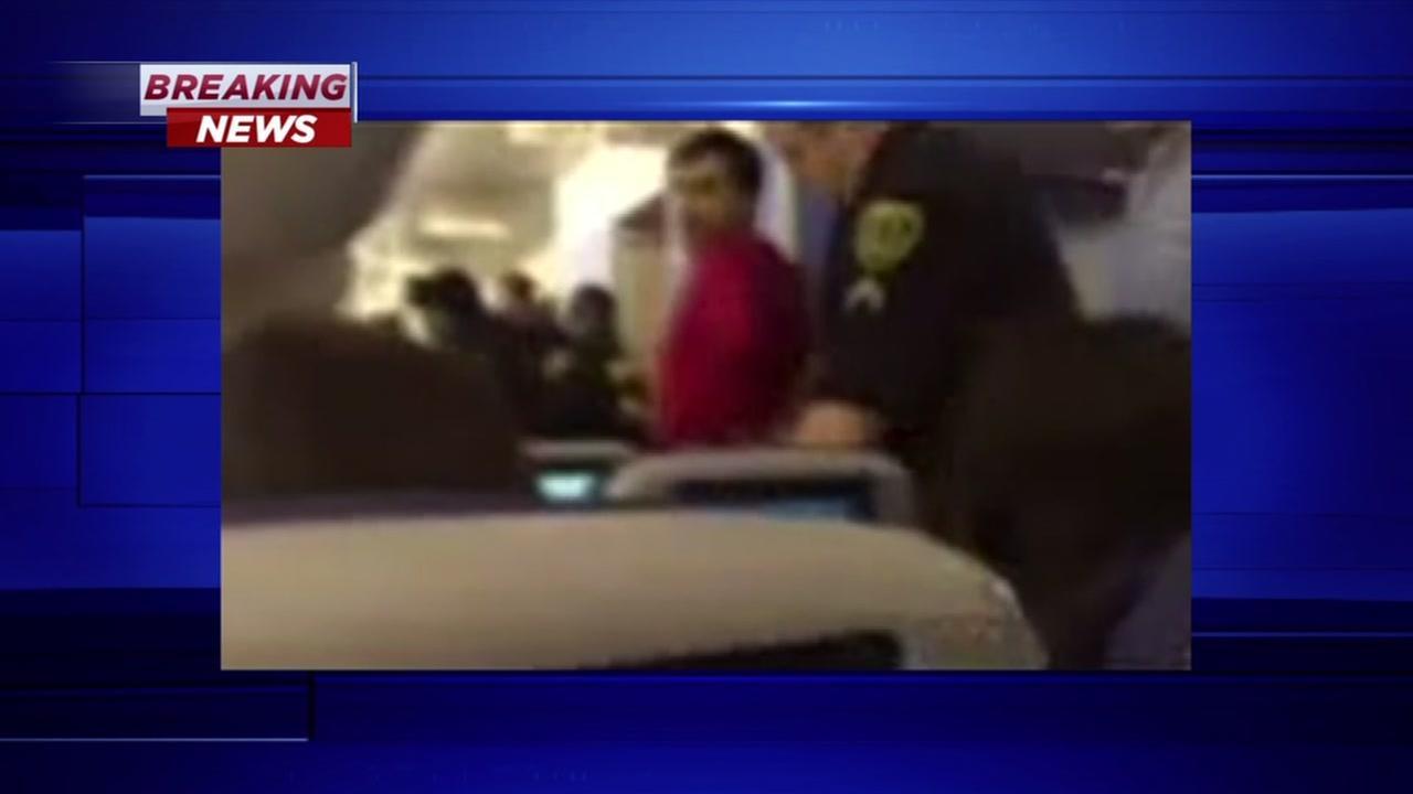 Passenger detained