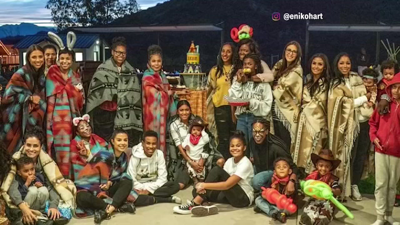 Kevin Hart and Eniko Parrish are receving backlash over their sons Cowboys and Indians birthday party