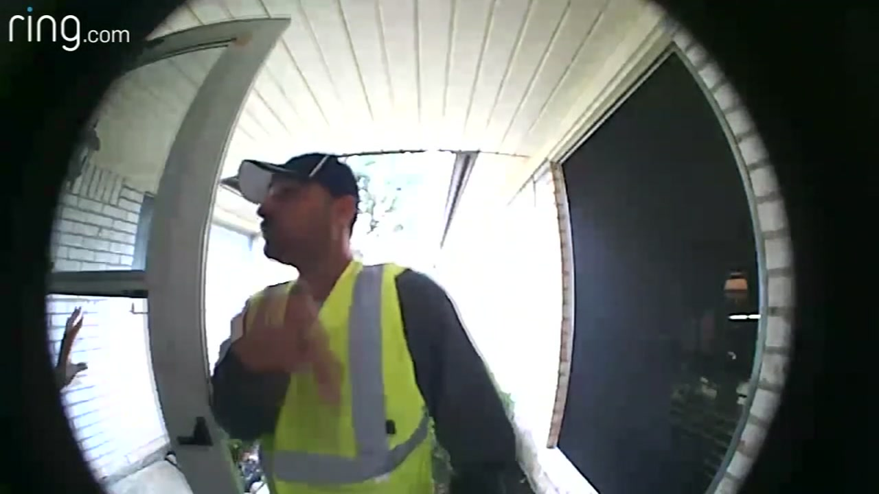 Pearland woman says she was burglarized by men posing as tree trimmers.