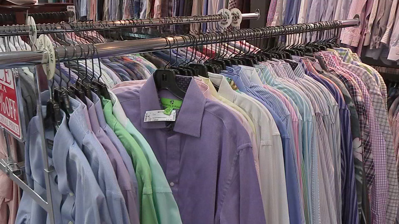 Chelsey Hernandez takes you to an upscale resale shop that sells mens attire with big discounts.