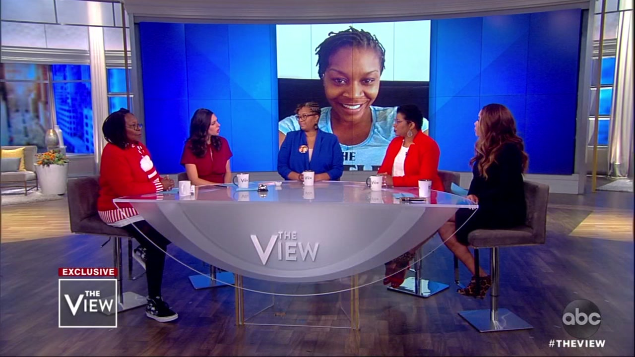 Sandra Blands family appeared on The View to discuss a new documentary called Say Her Name: The Life and Death of Sandra Bland.