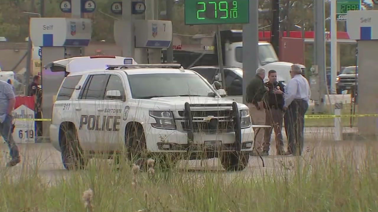A Baytown officer shot and wounded a woman during a traffic stop.