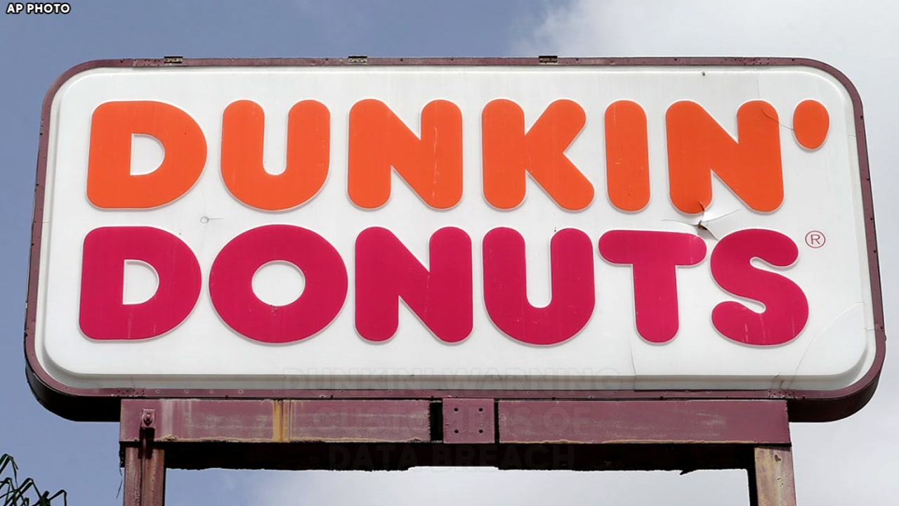Dunkin Donuts warns customers of data breach