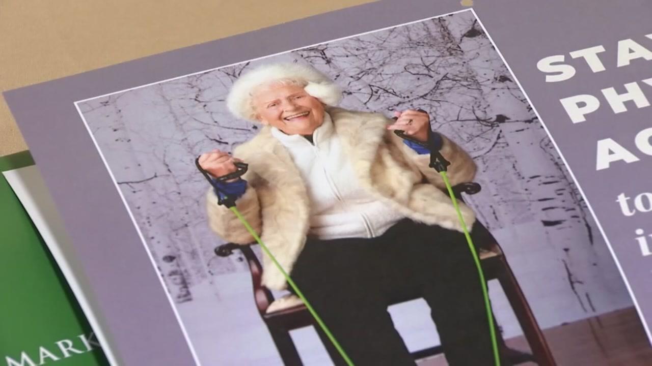Retirement residents calendar inspires healthy living