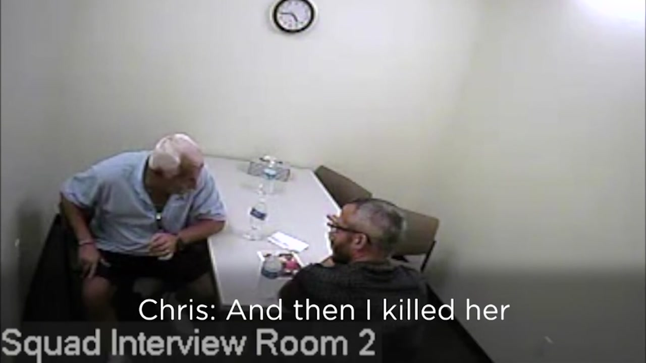 Chris Watts can be heard admitting to murdering his pregnant wife.