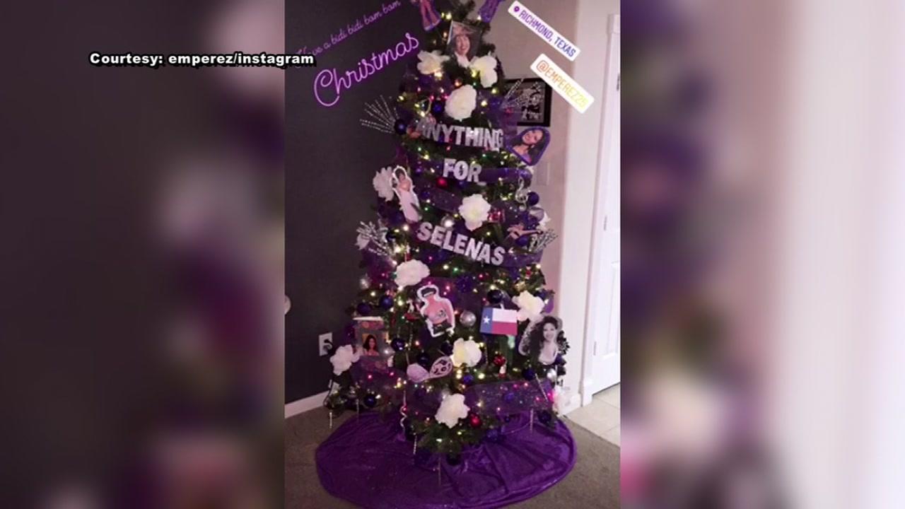 A Richmond woman created a Selena themed Christmas.