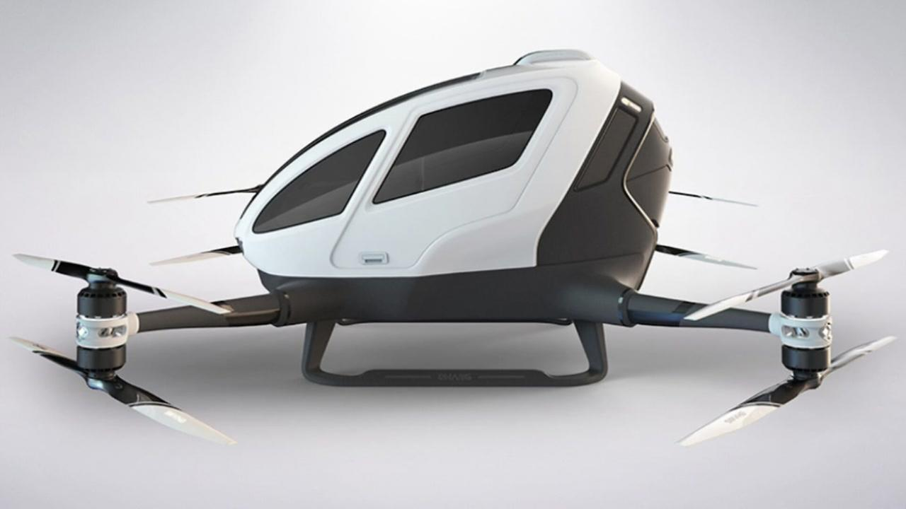 Company unveils drone for humans