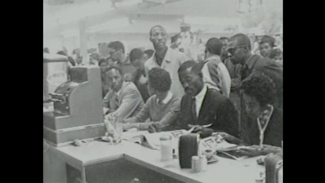 Lunch counter demonstration