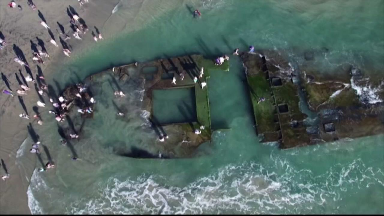 Sunken Gambling Ship In California Resurfaces With Help Of