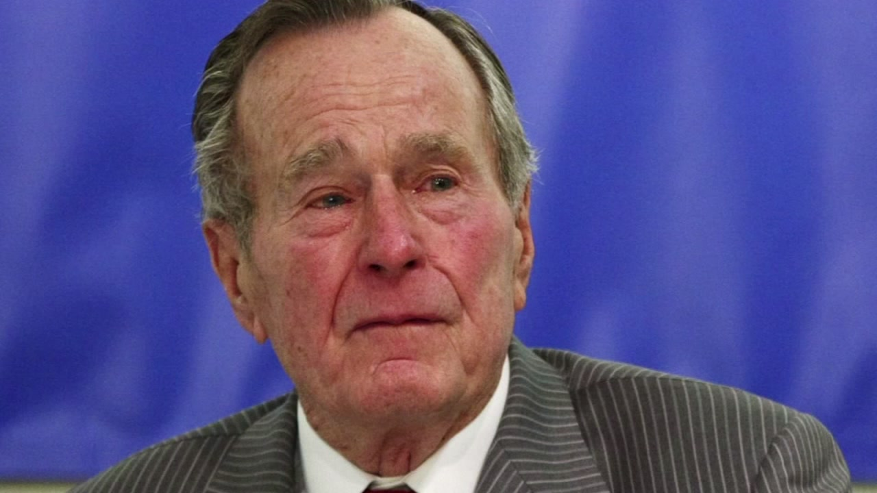 I love you too are George Bushs last words.