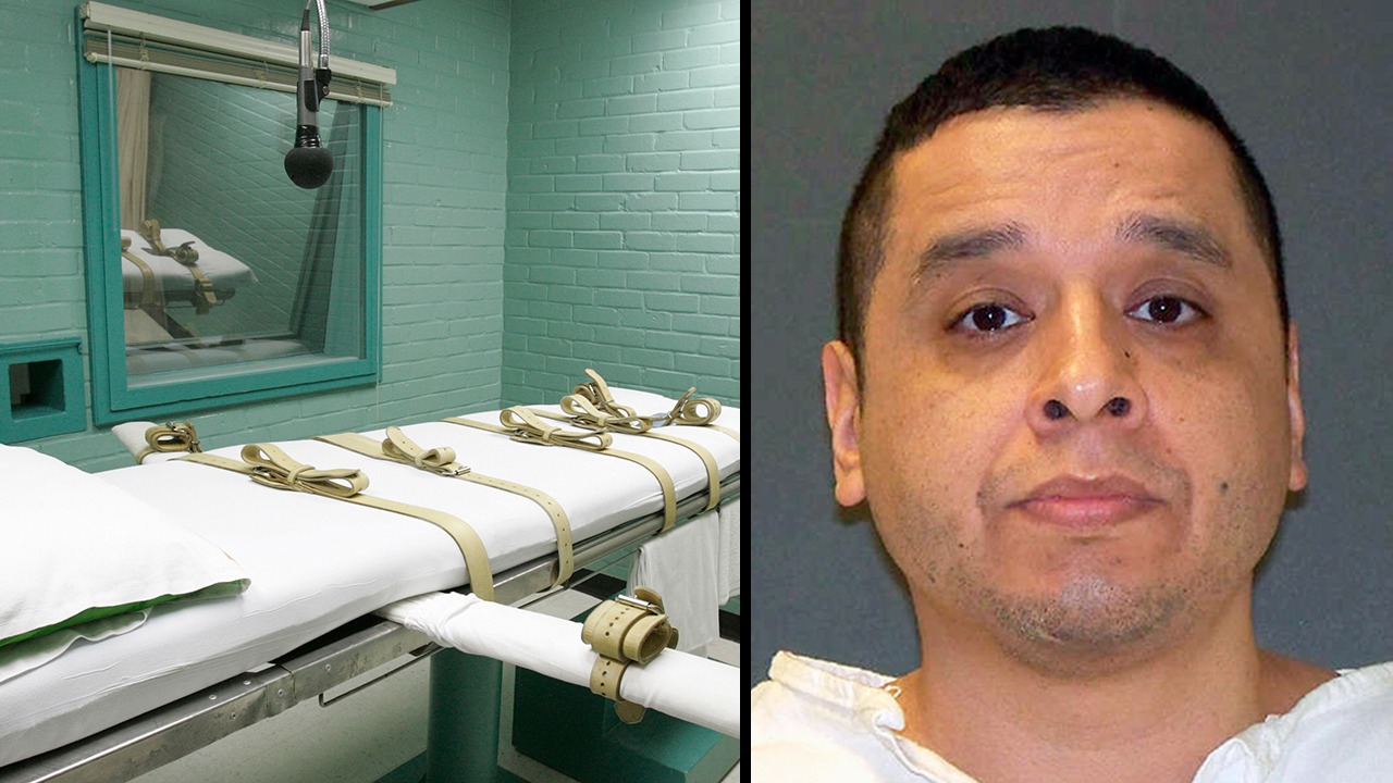 Joseph Garcia is set to die by lethal injection for the December 2000 shooting death of 29-year-old Aubrey Hawkins, a police officer with the Dallas suburb of Irving.