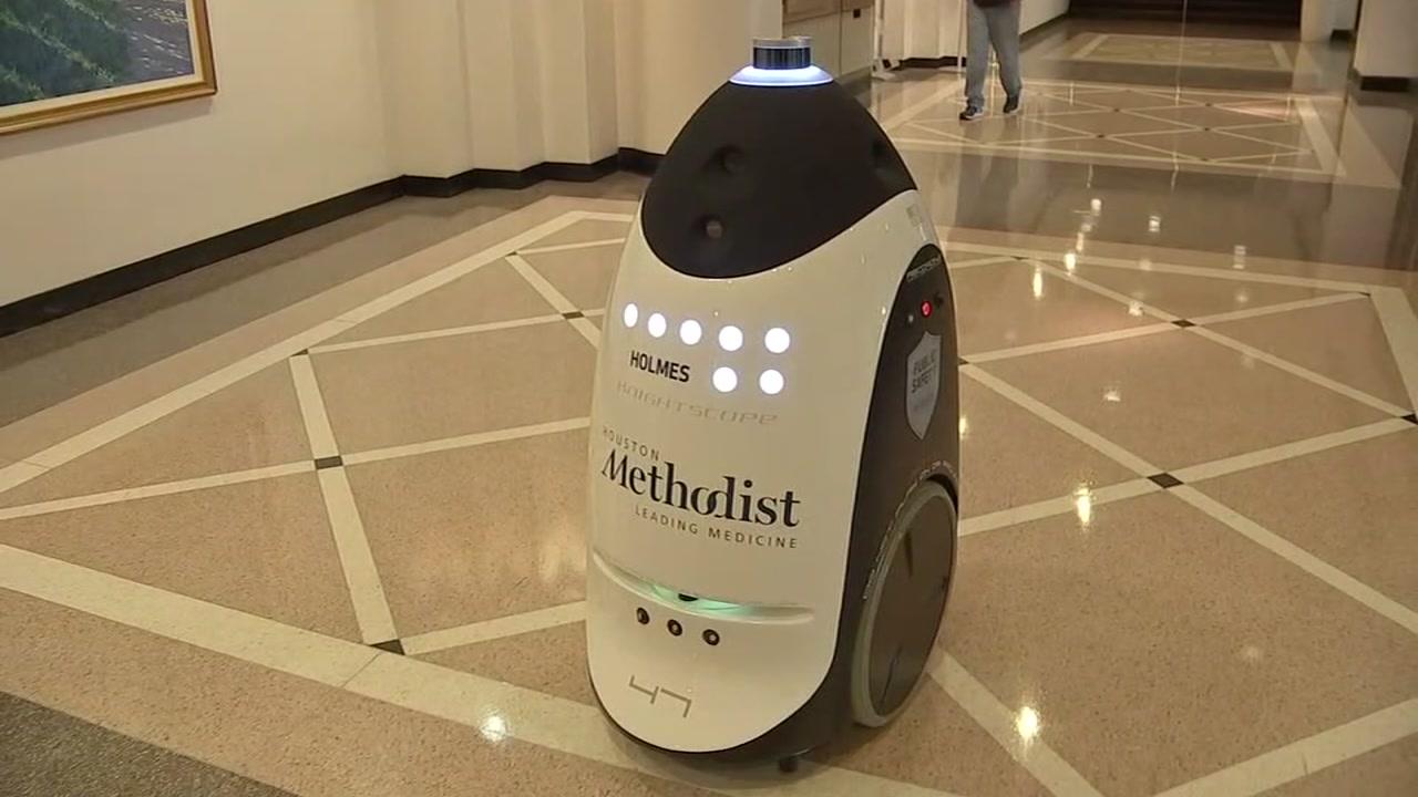 Image result for Houston Methodist unveils security robots to patrol inside hospital