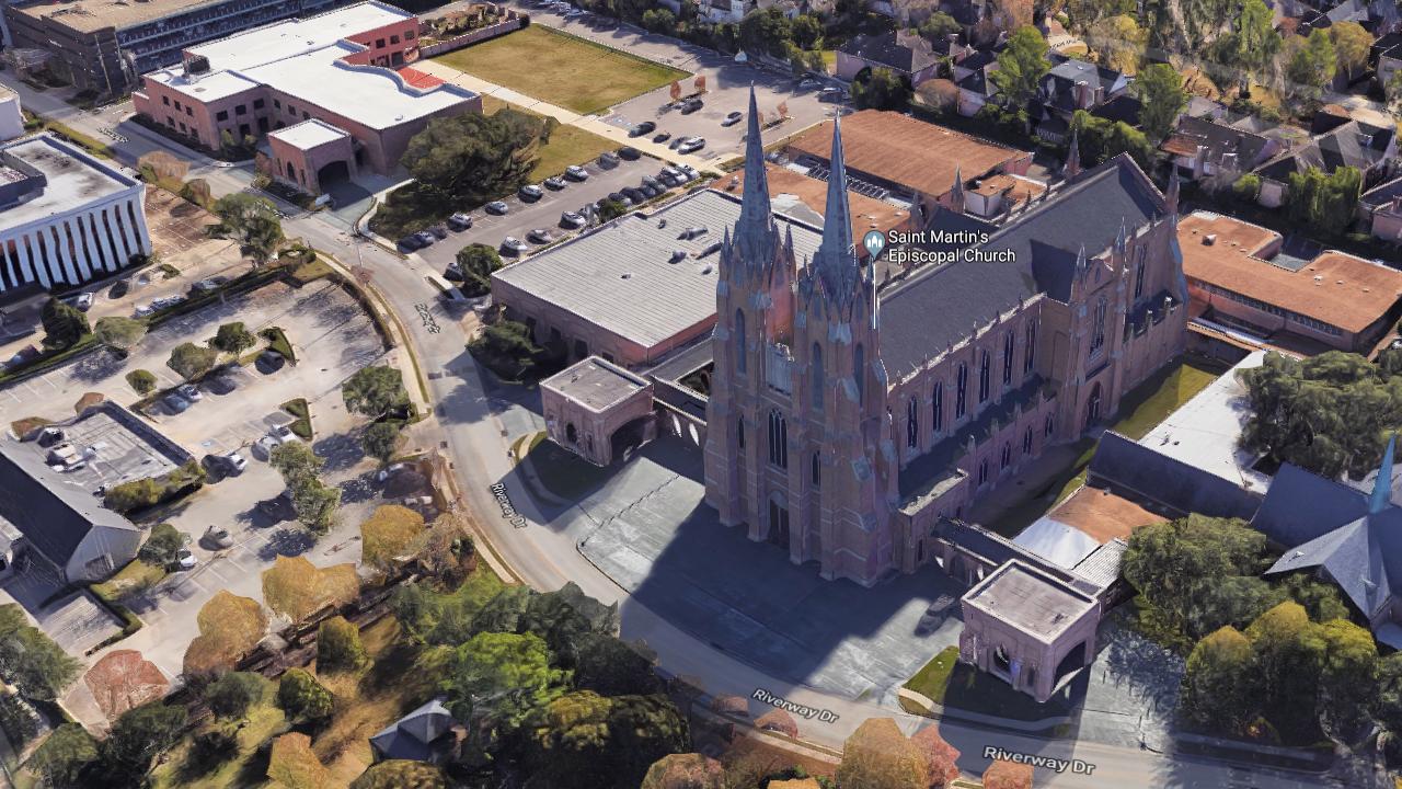 St. Martins Episcopal Church in Houston, Texas