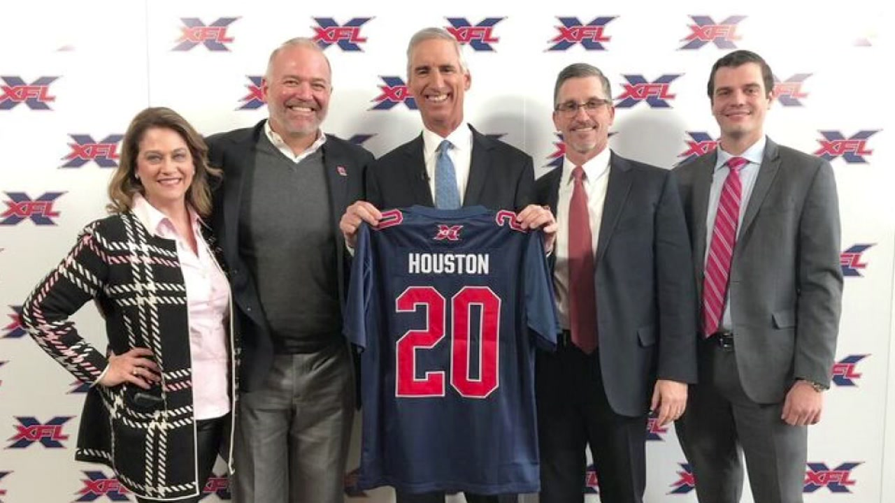 Houston awarded team in rebooted XFL football league