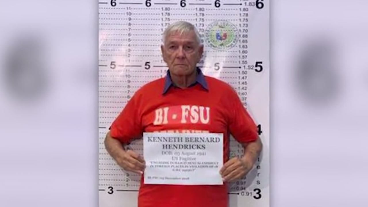 American Catholic priest arrested in Philippines for sexual molestation of several boys.