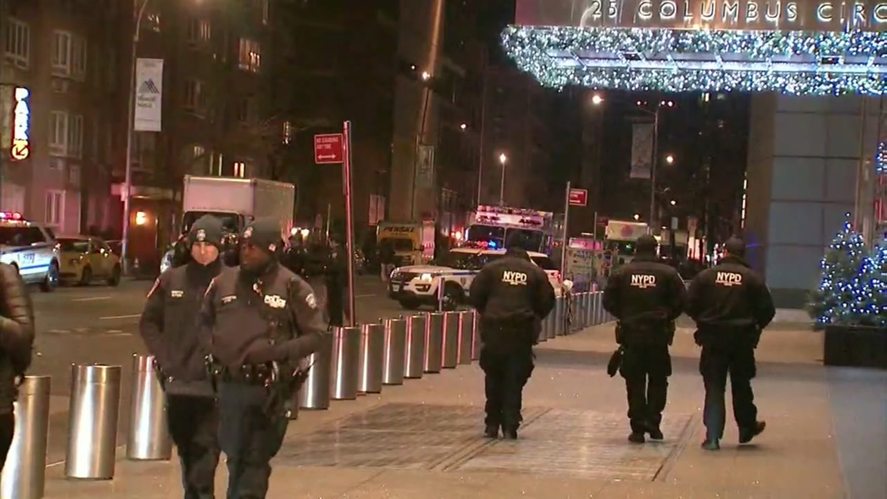 Police are investigating a bomb threat at Time Warner Center in Manhattan, New York.