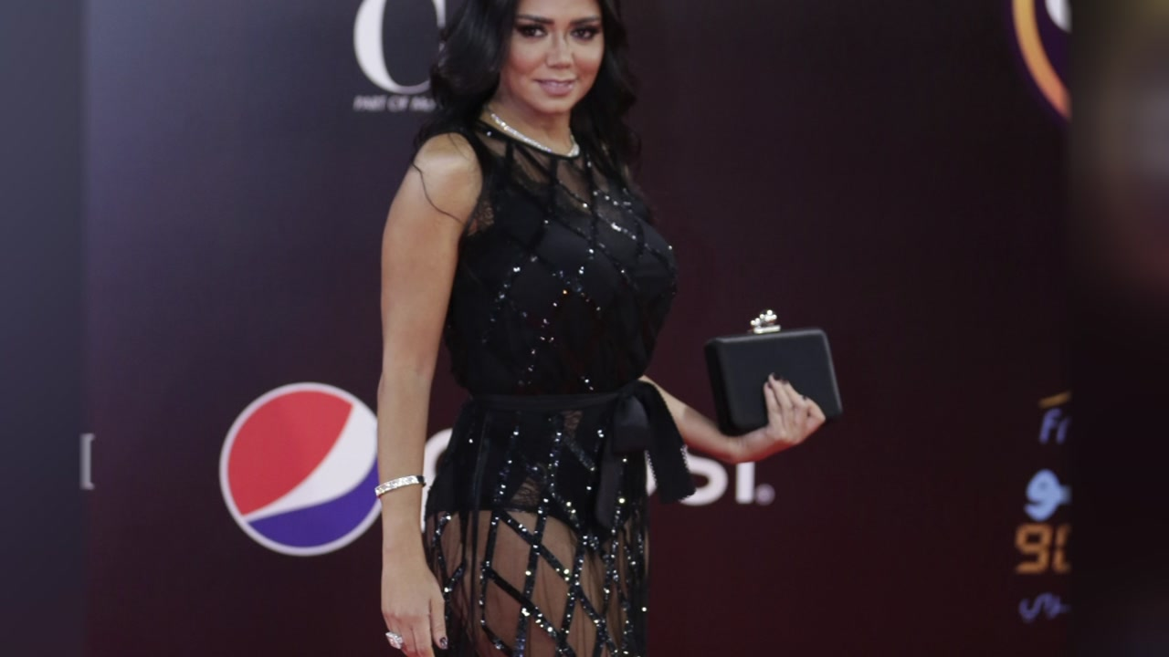 Egyptian actress being investigated for wearing revealing dress.