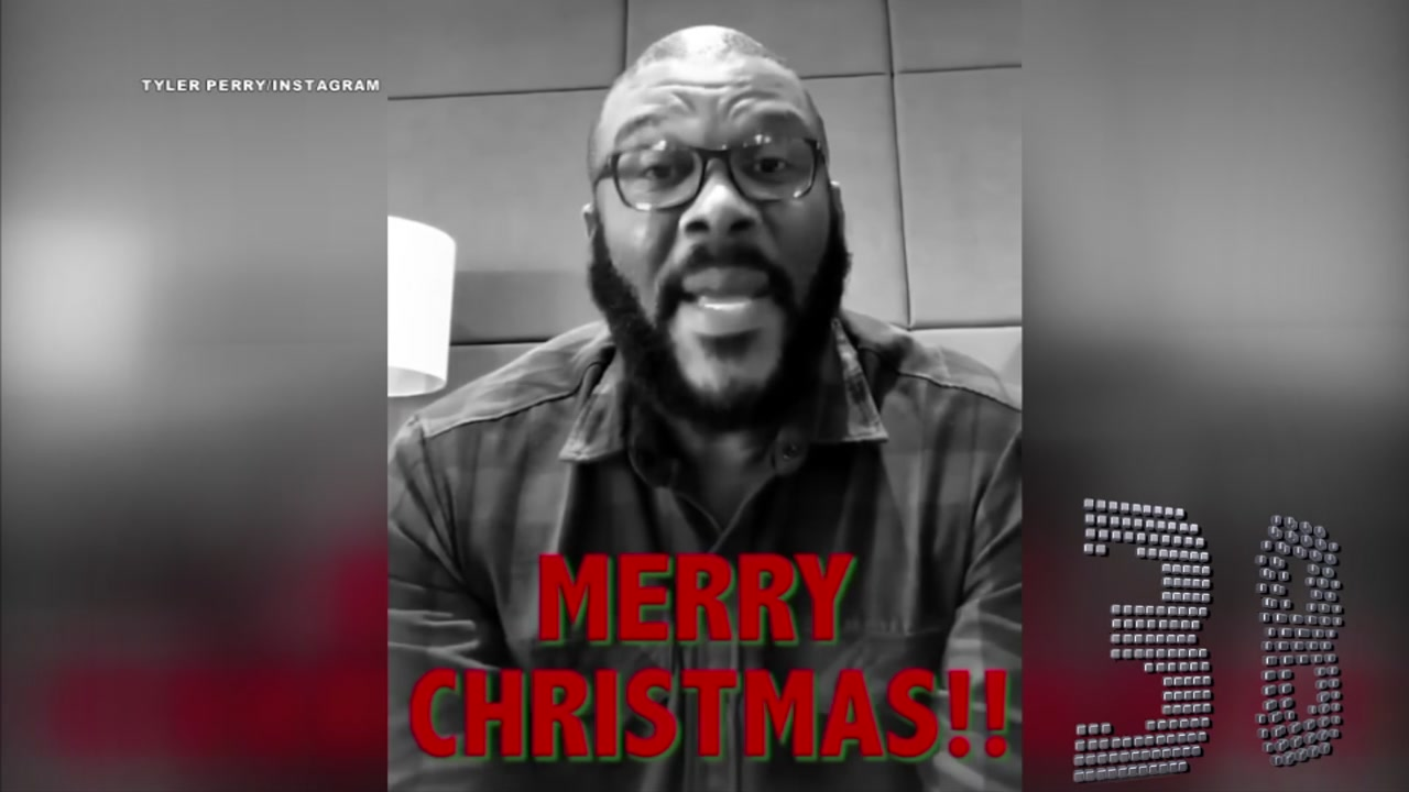Merry Perry Christmas! Tyler Perry paid off all the layaways at 2 Walmart stores.