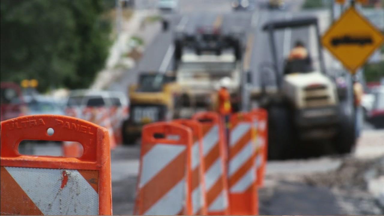 Heres a look at the roads and highways that will be closed this weekend.