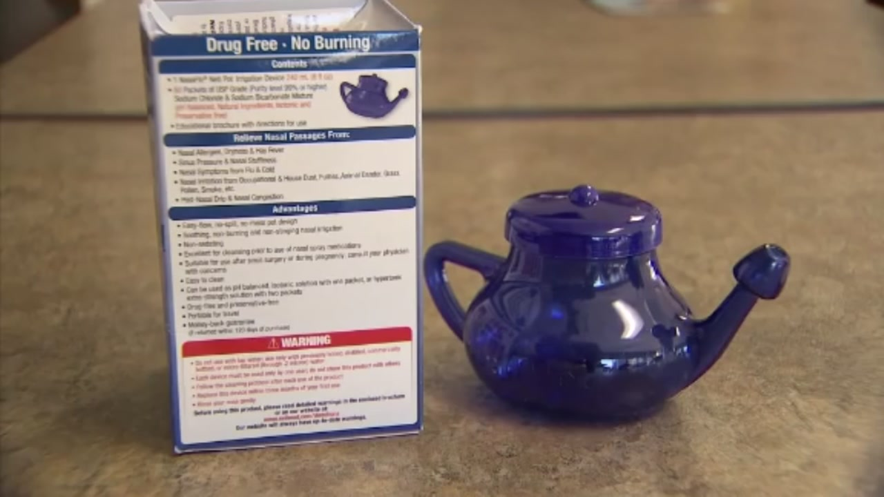 Seattle woman dies from brain eating amoeba doctors think she got from using a Neti pot.