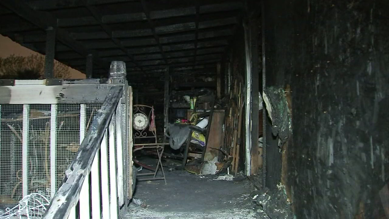 Residents displaced after fire destroys Pasadena mobile park homes