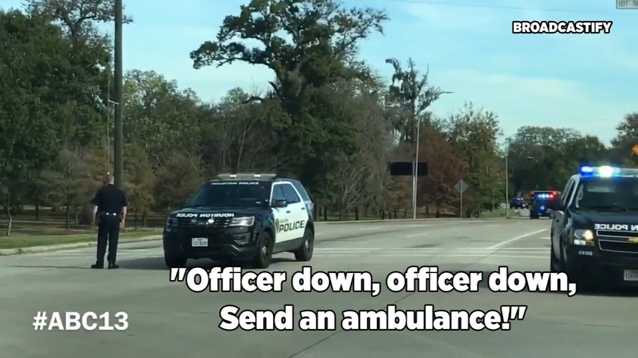 OFFICER DOWN: Broadcastify recordings capture the chaos after three officers were shot while serving a warrant in NE Harris Co.