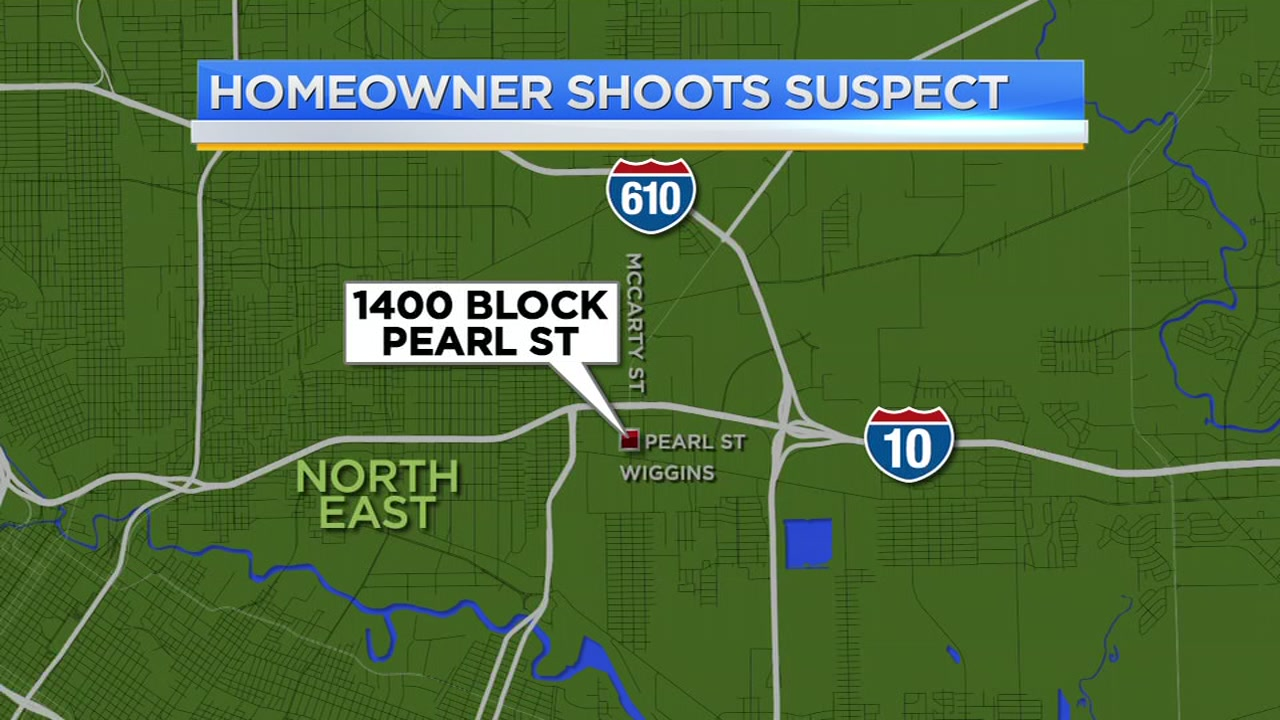 Homeowner shoots suspect in northeast Houston