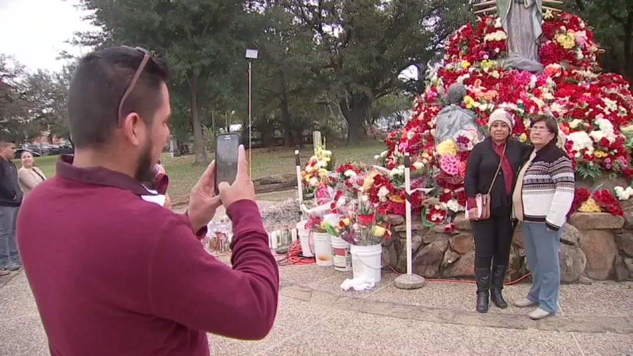 Latino Catholics celebrate Lady of Guadalupe Day in Houston
