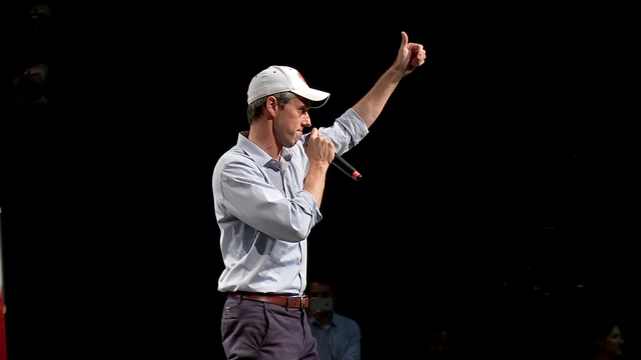 According to the poll, O'Rourke beat out Sen. Bernie Sanders by less than one percent to take the top spot.