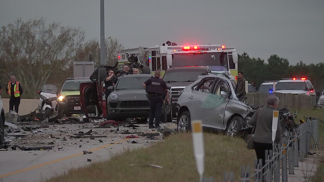 Neighbors remember a man killed in a crash on the Grand Parkway near FM 2920.
