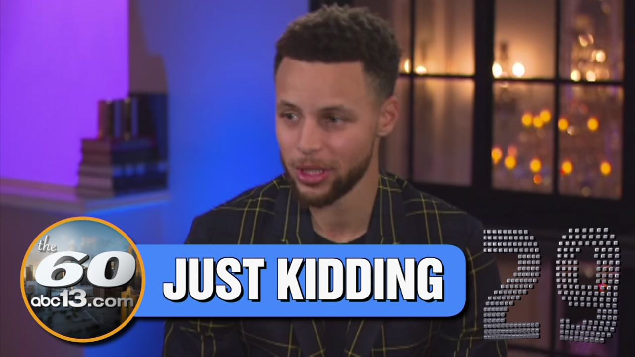 Steph Curry says he was just joking when he doubted the moon landing, and now he could be coming to NASA in Houston.