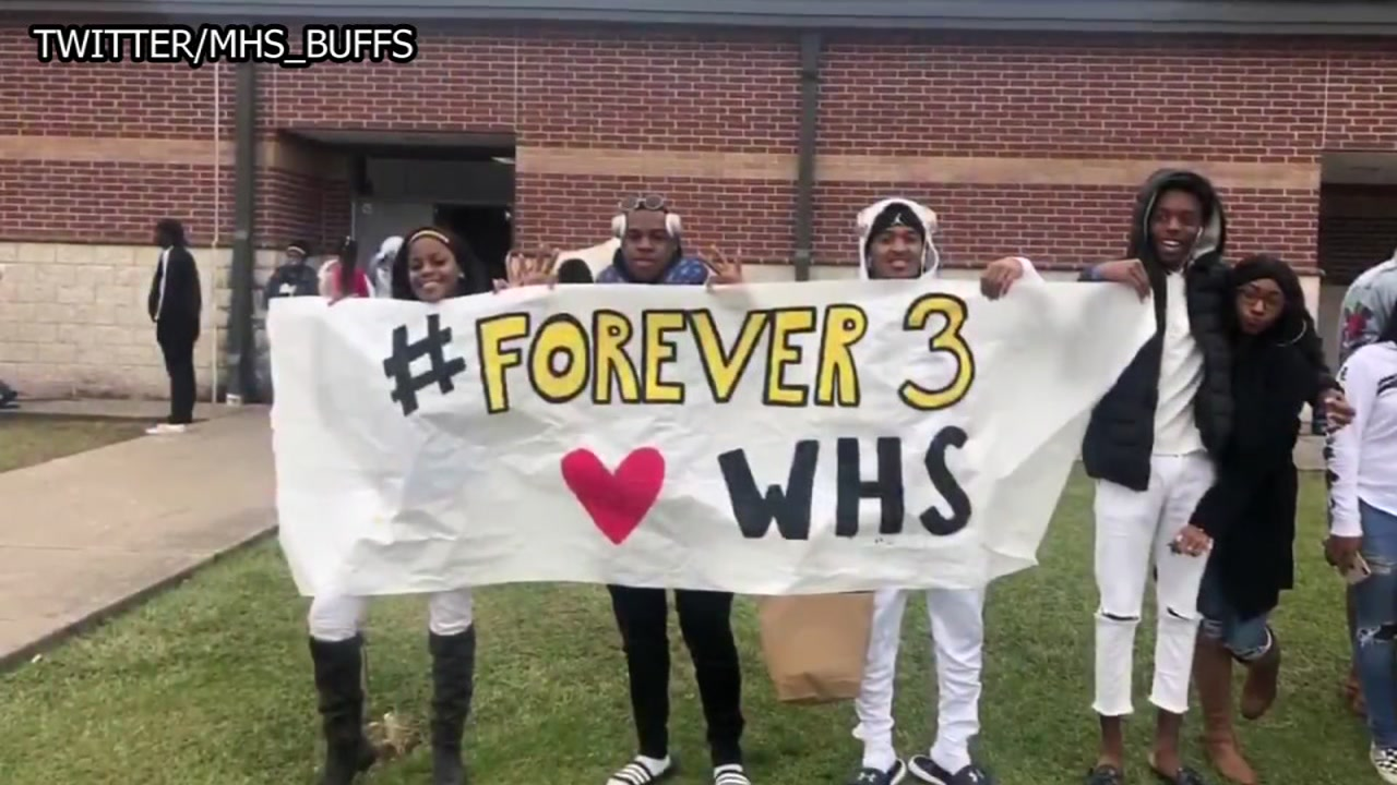 On their trip to San Antonio, the Marshall Buffs honored fallen teammate Drew Conley.