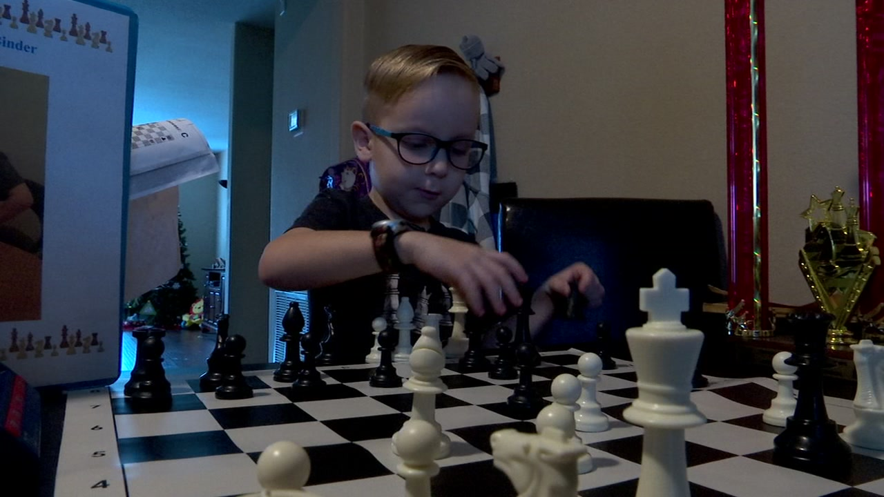 Katy ISD 5-year-old boy competes at national chess tournament in Florida