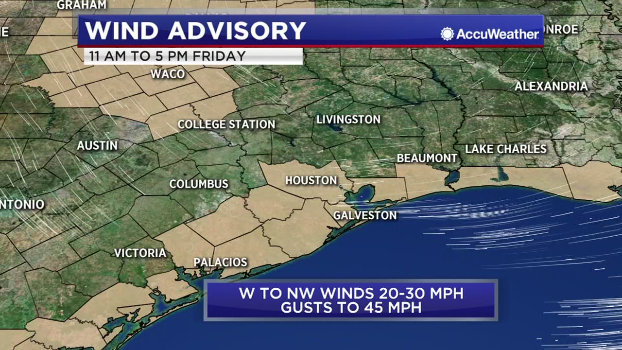 WINDY FRIDAY: After a cool Friday, the sun will return this weekend.