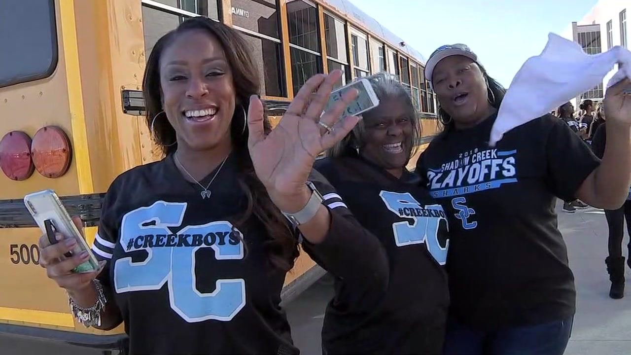 TEAM OF DESTINY? The Shadow Creek Sharks remains perfect in just their first year of football.