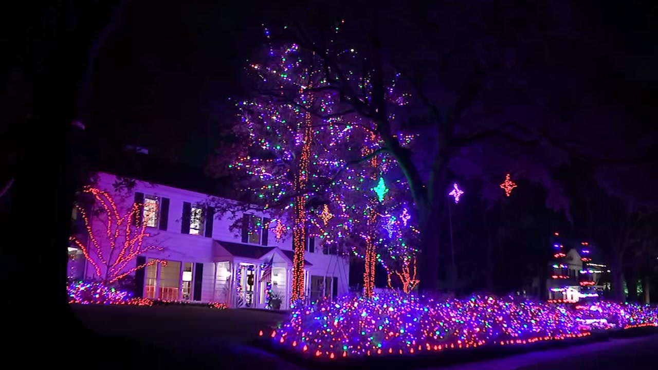 Top holiday light displays in Houston and surrounding areas