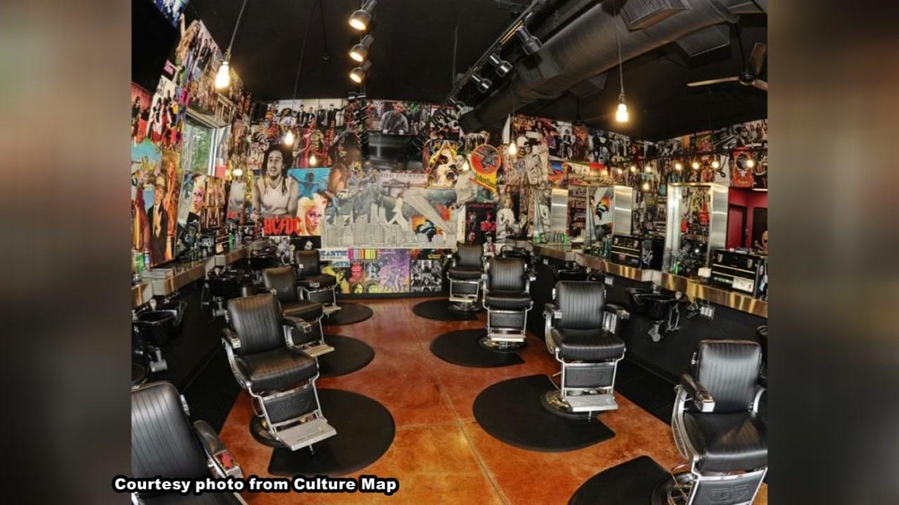 Rock 'n' roll barbershop announces opening date in hot Heights development
