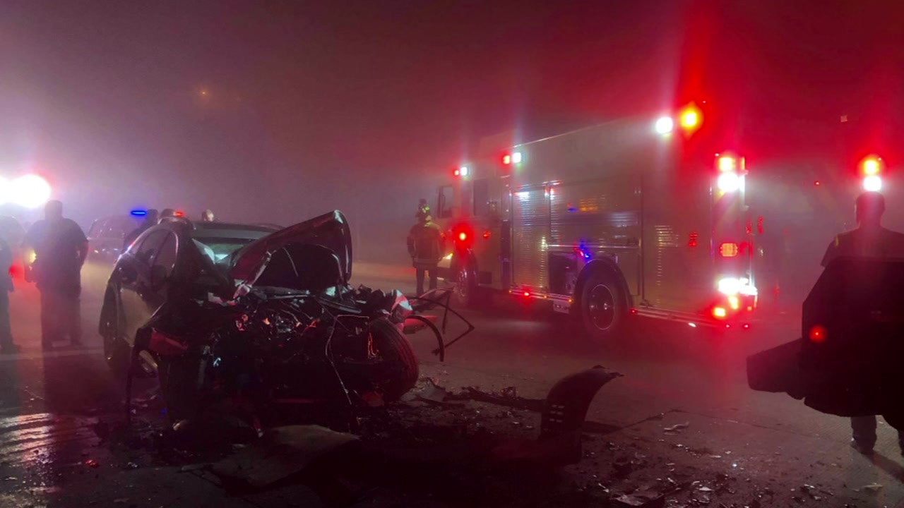 Deputies are investigating to see if the foggy conditions played a factor in the crash.