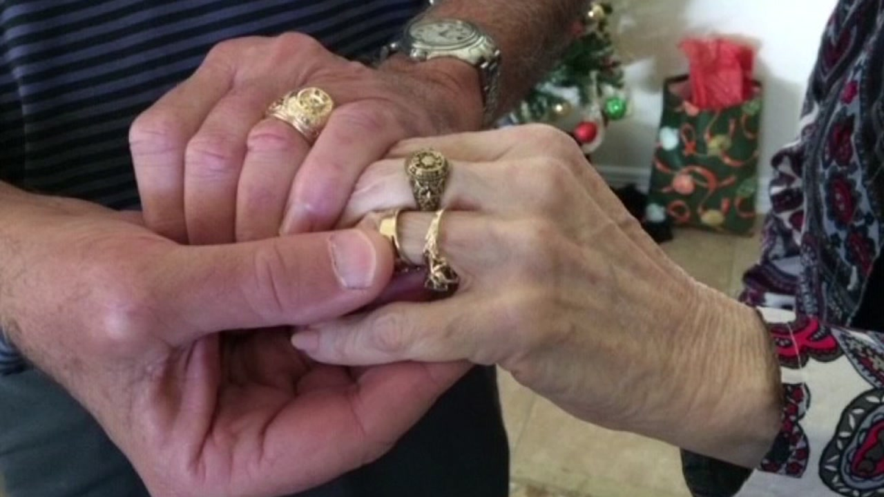 Man helps reunite woman with lost Aggie sweetheart ring