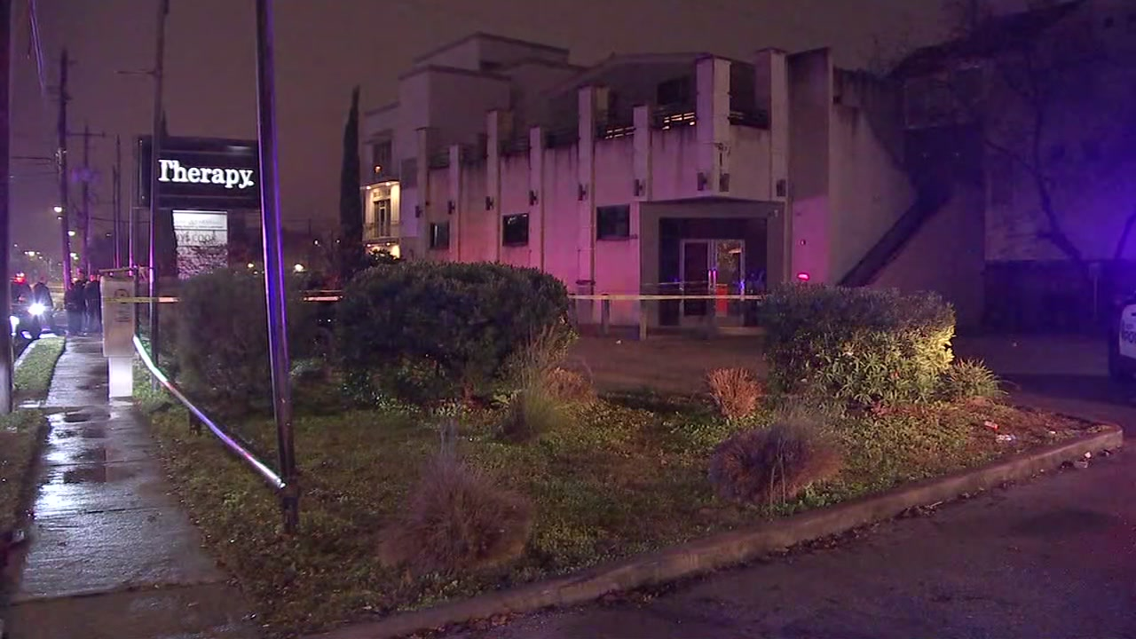 Police are looking for the person who allegedly shot the owner of the Therapy club
