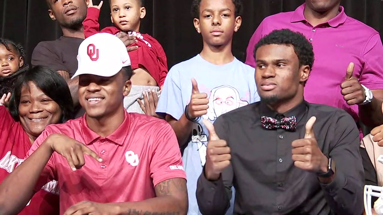 Jamal Morris and Erick Young will be representing the Bush Broncos at Oklahoma and Texas A&M, respectively.