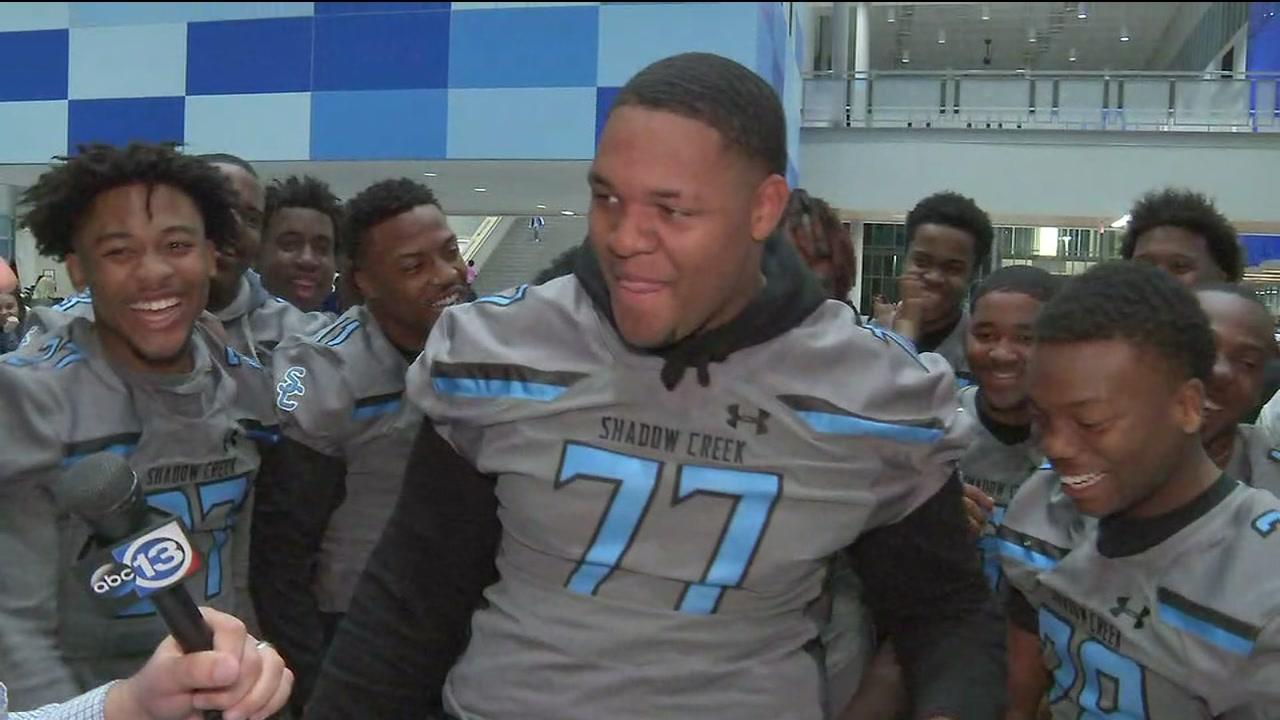 Shadow Creek varsity football team gets chance at state championship