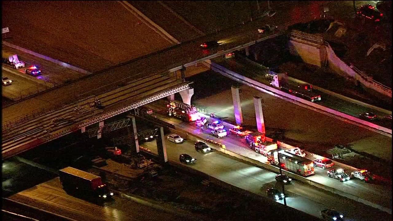 Highway 288 shut down by multi-vehicle wreck