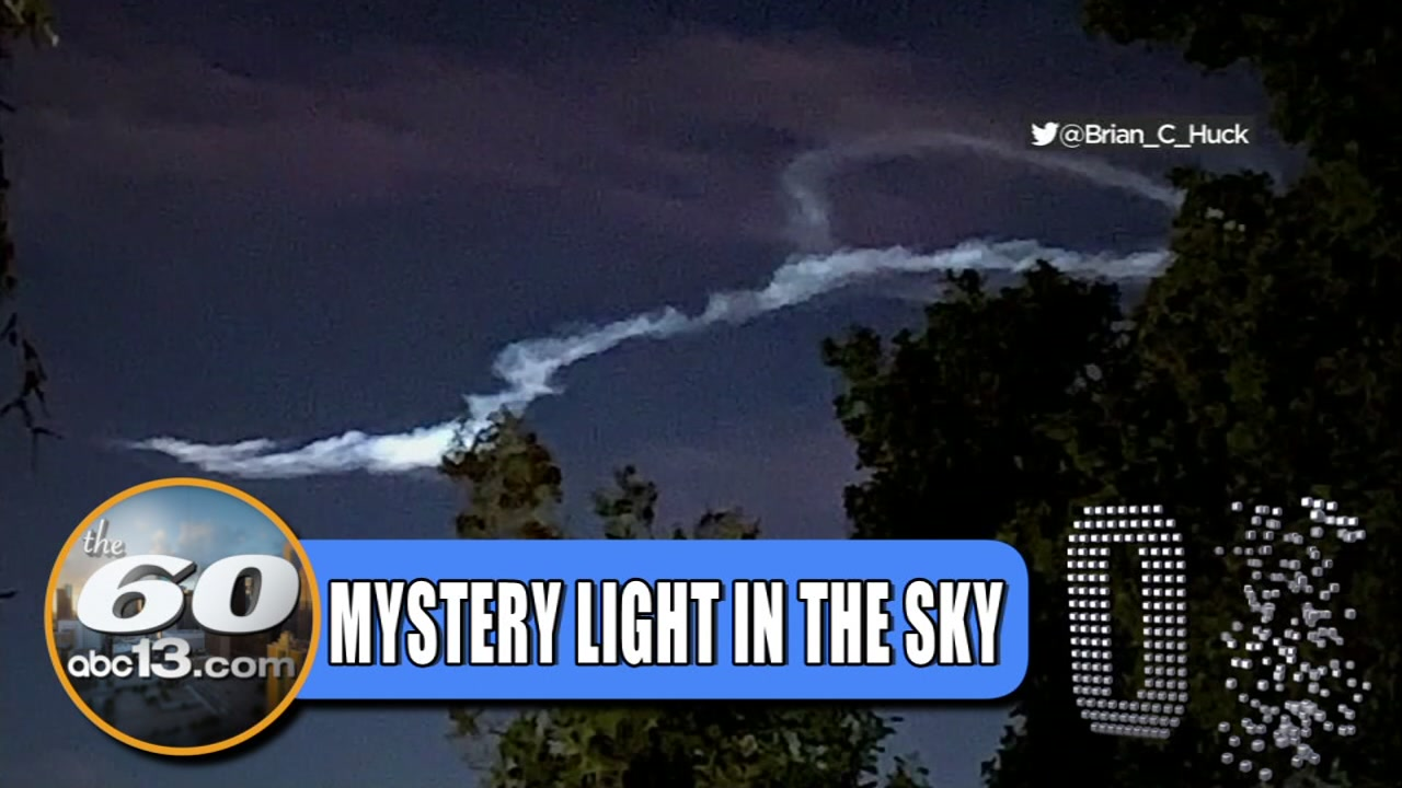 WHAT WAS THAT? Mystery light in the sky marvels people in San Francisco
